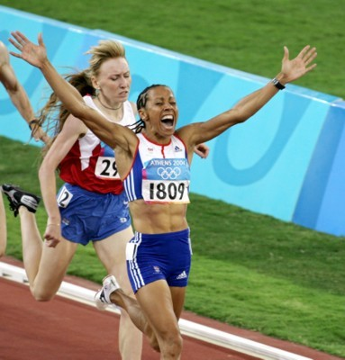 Kelly Holmes poster G101446