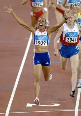 Kelly Holmes poster G101447