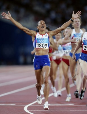 Kelly Holmes poster G101448