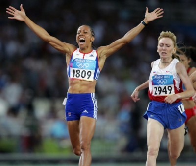 Kelly Holmes poster G101449
