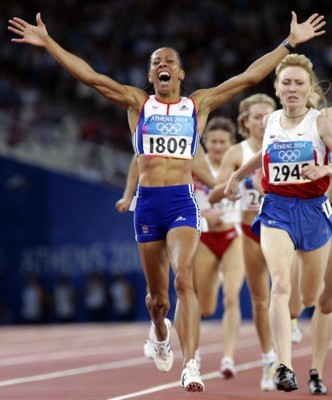 Kelly Holmes poster G101450