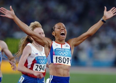 Kelly Holmes poster G101451