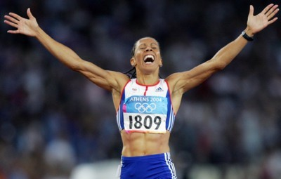 Kelly Holmes poster G101452