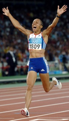 Kelly Holmes poster G101453