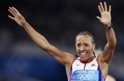 Kelly Holmes poster G101454