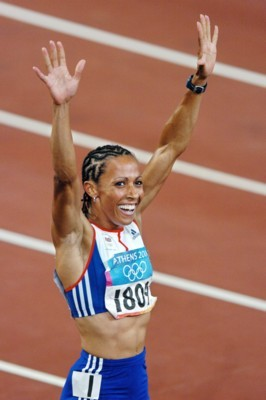 Kelly Holmes poster G101455