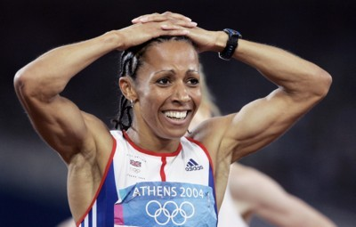 Kelly Holmes poster G101459