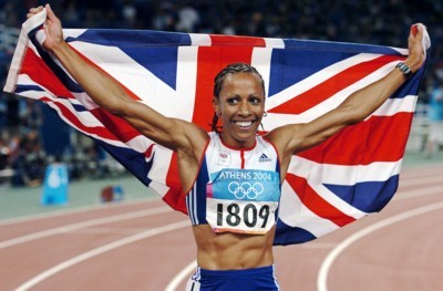 Kelly Holmes poster G101460