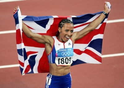 Kelly Holmes poster G101461