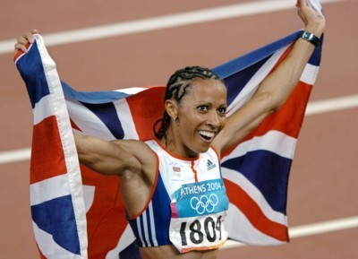 Kelly Holmes poster G101462