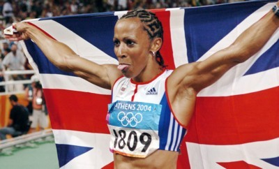 Kelly Holmes poster G101463