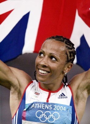 Kelly Holmes poster G101464
