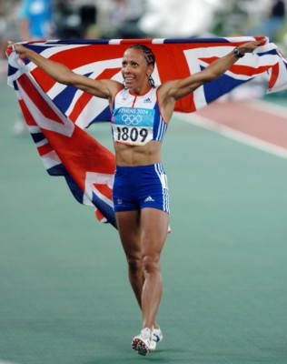 Kelly Holmes poster G101465