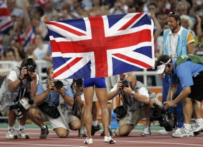 Kelly Holmes poster G101466