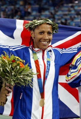 Kelly Holmes poster G101467