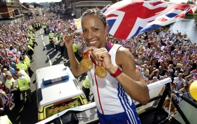 Kelly Holmes poster G101468