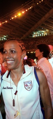 Kelly Holmes poster G101469