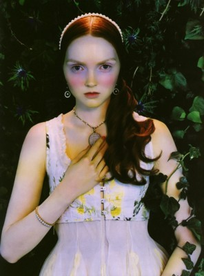 Lily Cole poster G102026