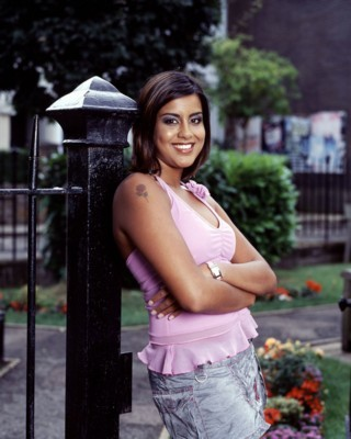 That Ferreira girl out of Eastenders. Remember that really badly written