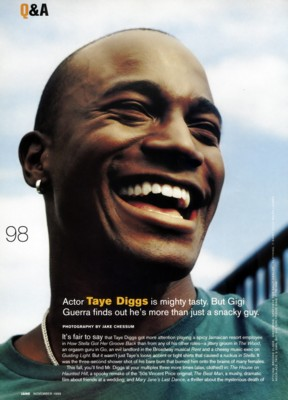 Taye Diggs poster G170156