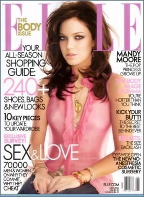 Mandy Moore Elle poster G179479