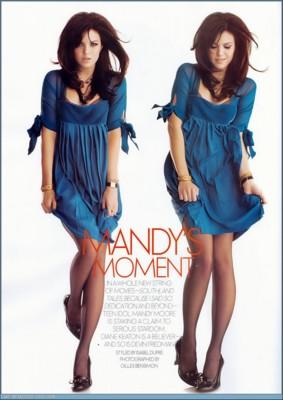 Mandy Moore Elle poster G179481