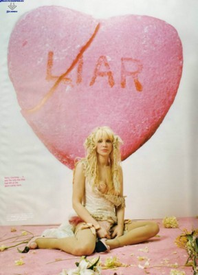Courtney Love poster G19406