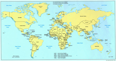 World Map poster G315648