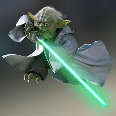 Yoda poster G318094