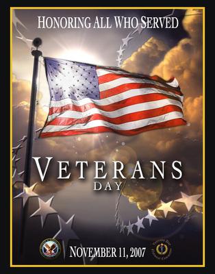 Veterans Day poster G318219
