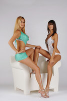Melissa Satta and Thais Wiggers Souza picture G319930