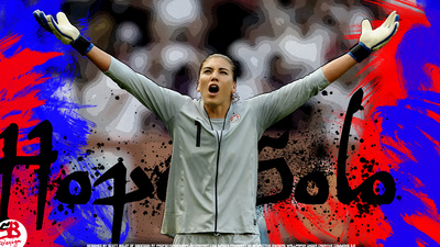 Hope Solo poster G321805