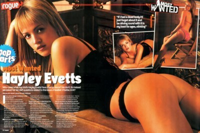 Hayley Evetts poster G32253