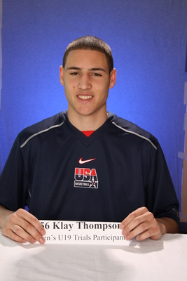 Klay Thompson poster G328019