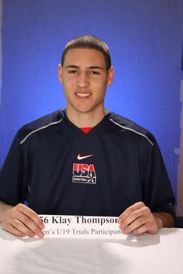 Klay Thompson poster G328019