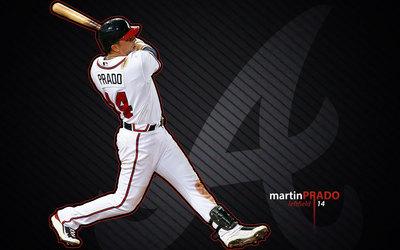 Martin Prado poster G328703