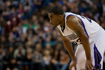 Marcus Thornton poster G328868