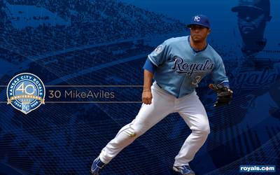 Mike Aviles poster G330185