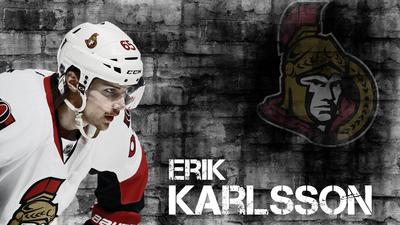 Erik Karlsson poster G331851