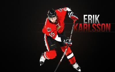 Erik Karlsson poster G331856