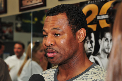 Shane Mosley poster G333293