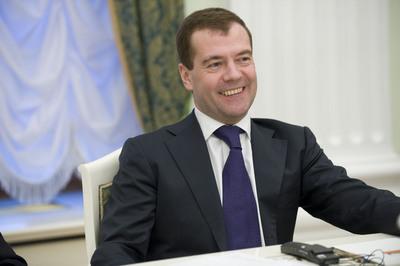 Dmitry Medvedev poster G334822
