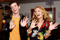 Becki Newton & Michael Urie picture G335232