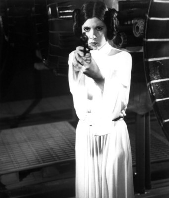 Carrie Fisher poster G35290