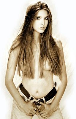 Lisa Faulkner poster G450054