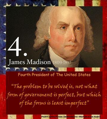 James Madison poster G521717