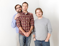 Eric Wareheim, Will Forte, Tim Heidecker - Jeff Vespa Tim & Erics Billion Dollar Movie Portraits - 2012 Sundance Film Festival x13 HQ picture G524472