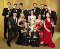 The cast of Mad Men picture G543144