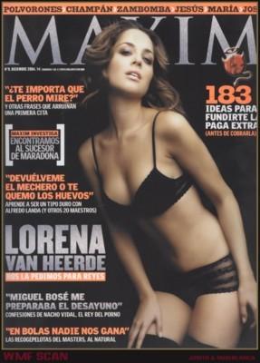 Lorena Van Heerde poster G75886