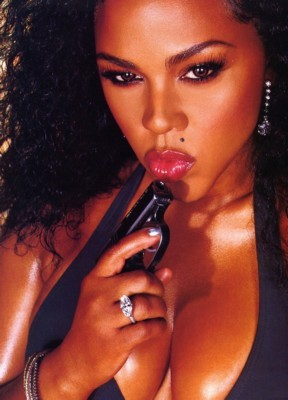 Lil Kim poster G7903